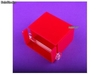 Porte serviettes plexiglas transparent Premiun fuchsia - Photo 2