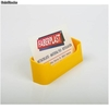Porte Visuel acrylique jaune brillance cartes de visite horizontal 10,5 cm - Photo 2