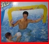 Porteria de WaterPolo Hinchable con Red de Nylon incluida
