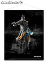 Poster watch dogs - aiden
