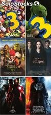 Posters Toy Story 3, Shrek 4, Eclipse Twilight, Iron Man 2, The Last Airbender