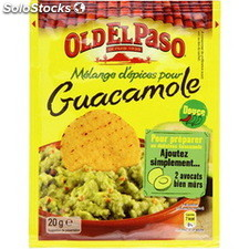 Pot 20G guacamole seasoning mix old el passo