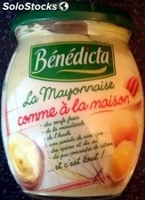 Pot 235G mayonnaise maison benedicta