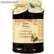 Pot 325G confiture cassis reflets de France