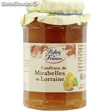 Pot 325G confiture mirabelles reflets de France