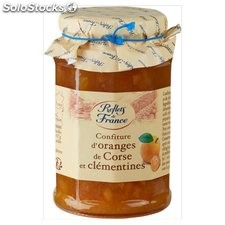 Pot 325G confiture orange/clementine reflets de France
