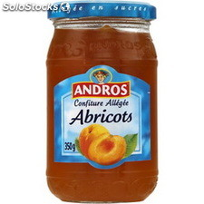 Pot 350G confiture allegee abricot andros