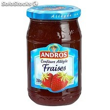 Pot 350G confiture allegee fraise andros