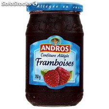 Pot 350G preparation allegee framboise andros