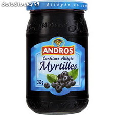 Pot 350G preparation allegee myrtille andros
