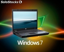 Potentes Portátiles HP Compaq Core 2 Duo T7300 con Windows 7 Originales