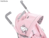 Poussette Canne Hello Kitty Rose - inclinable 3 positions - Photo 2