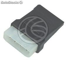Power Adapter molex 4P-m (5.25) > 15P-h (sata) (CA92)