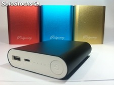 Power Bank 10400 mAh (Hasta 4 cargas)