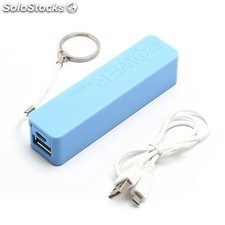 Power Bank 2600 mAh azul