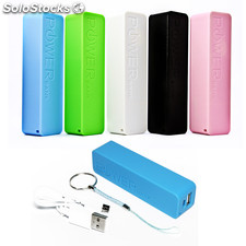 power bank 2600mah, carregador móvel