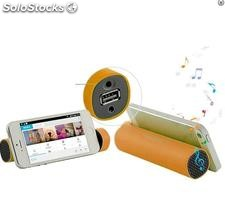 Power bank 4000 mah + altavoz bluetooth