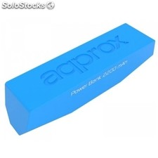 Power bank approx! APPPB22EVLB 2200 mAh 1A azul