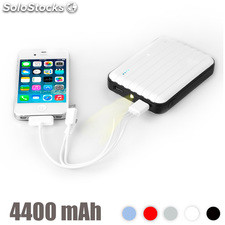 Power Bank con led 4400 mAh