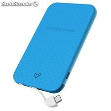 Power Bank Energy Sistem Extra Battery 2500 424429 2500 mAh Azul