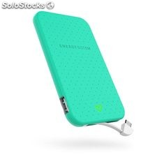 Power Bank Energy Sistem extra battery 2500 mAh verde