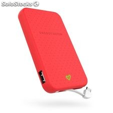 Power Bank Energy Sistem extra battery 5000 mAh rojo