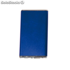 Power Bank Flat Azul