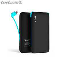 Power Bank idmix dm-605A 5000mAh / 6000mAh usb dual (2.1A + 1A) + Micro y cable