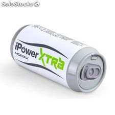 Power Bank lata refresco 6600 mAh blanco