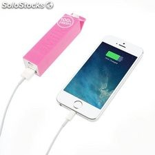 Power Bank tetra brick 2600 mAh rosa