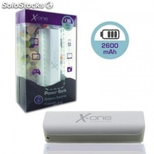 Power bank X-ONE 13094 2600mAh gris