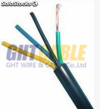 power cable cable de alimentación RVV 2X0.5mm² cobre