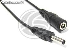 Power Cord dc-Jack Connector 3.5x1.35mm 1m (m/h) (AB23)