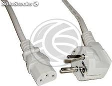 Power cord H05VV-F 1.8m schuko to open ends 3x1.50mm² (FE01-0002)