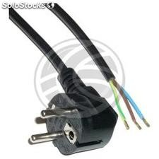 Power cord IEC60320 1.8m schuko to open ends (FE11)
