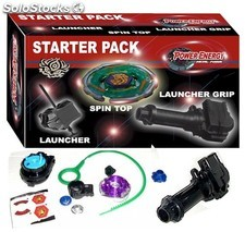 Power Energy starter pack (tipo Beyblade)