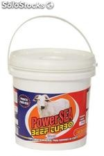 Power sea beef turbo - balde 4kg, saco 1kg