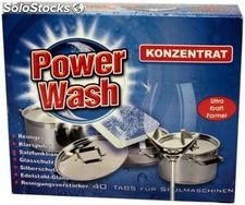 Power Wash Tabletki do zmywarki 40 szt