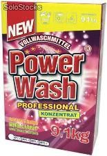 Power Wash Vollwaschmittel Professional 9,1kg - proszek do prania Uniwersalny