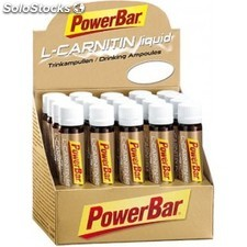 PowerBar L-Carnitina 20 ampollas x 25 ml
