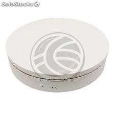 Powered rotating base display 60 cm white with remote control lazy susan (SR21)