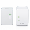 Powerline / plc + repetidor wifi dlink dhp-w311av 500mbps
