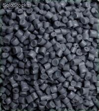 Pp polipropileno pellet color gris