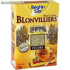 Pq 1KG sucre poudre blonvilliers beghin say