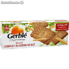 Pq 210G biscuit complet germe de ble cereal bio