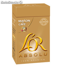 Pq 250G cafe moulu l' or absolu maison du cafe