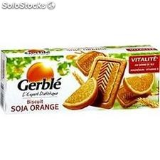 Pq 280G biscuits soja orange gerble