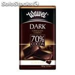 Premium 70% cocoa chocolate 100g