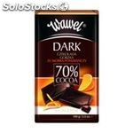 Premium Orange 70% cocoa chocolate 100g