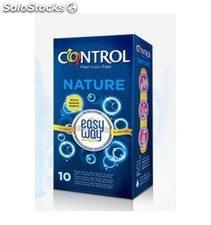 Preservativos control easy way nature 10u